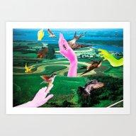 Do Androids Dream Of Ele… Art Print
