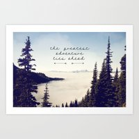 The Greatest Adventure- … Art Print