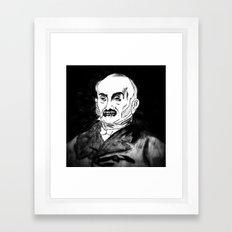 06. Zombie John Quincy Adams  Framed Art Print