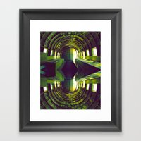 Out Of Space Framed Art Print