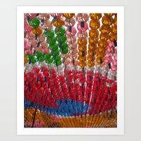 Jogyesa Temple Art Print