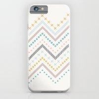 Mixed Zig Zag - in Marigold iPhone 6 Slim Case