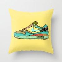 Nike 001 Throw Pillow