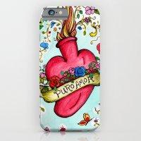 Botanical Heart Illustration iPhone 6 Slim Case
