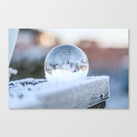 Glass Ball Canvas Print