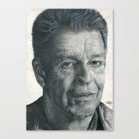 John Noble - Walter Bish… Canvas Print