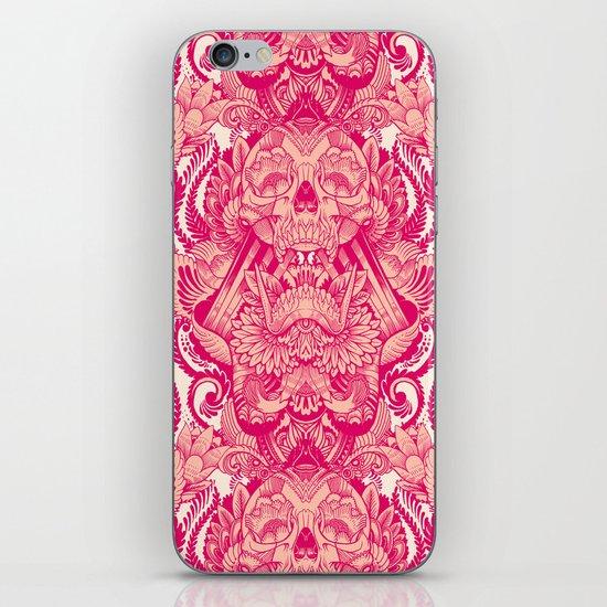 wallpaper skulls iPhone & iPod Skin