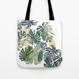 Tote Bag - Tropical Leaves - franciscomffonseca