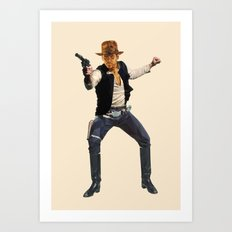 Indiana Solo Art Print
