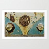 VW Rusty Art Print
