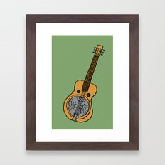 Dobro Framed Art Print
