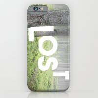 iPhone Cases featuring LOST by cafelab