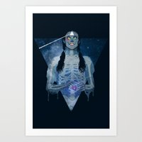 Brain Damage Art Print