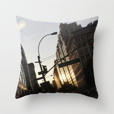 New York City Union Square NYC Throw Pillow