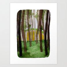 Landscapes / Nr. 5 Art Print