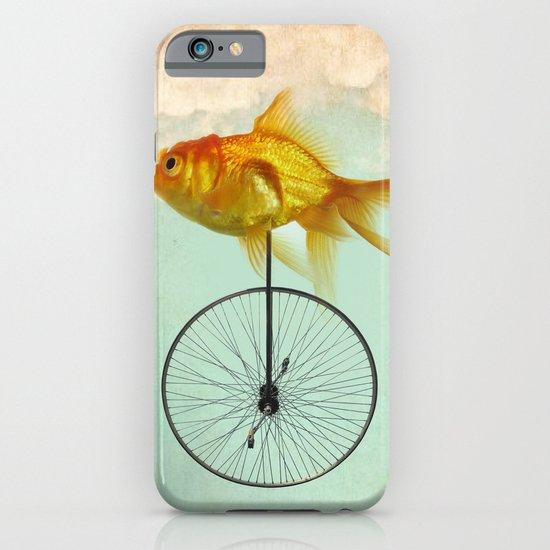 unicycle goldfish iPhone & iPod Case