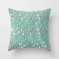 Chain link Throw Pillow
