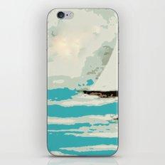 Sailing The Coast Of California iPhone & iPod Skin