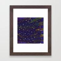 Little Stars Framed Art Print
