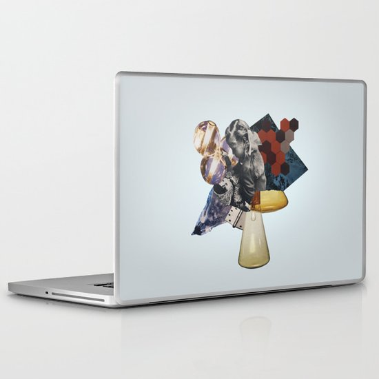 Everything we love is slowly becoming fiction Laptop & iPad Skin