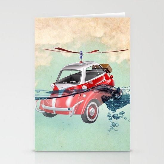 Isetta  all terrain vehicle Stationery Card