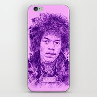 27 Club - Hendrix iPhone & iPod Skin