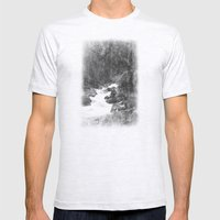 Whiteout Yosemite-2 Mens Fitted Tee Ash Grey SMALL