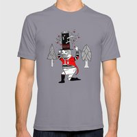 On the various things that can grow out of stove pipe hats. Mens Fitted Tee Slate SMALL
