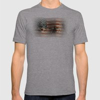 The Rise Of A Nation Mens Fitted Tee Athletic Grey SMALL