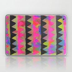triangles(neon) Laptop & iPad Skin
