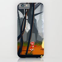iPhone & iPod Case featuring In the forest by animatorlu