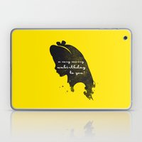 Unbirthday – Alice Sil… Laptop & iPad Skin