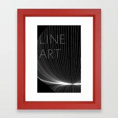 Line Art Framed Art Print