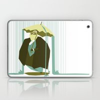 Fancy Pants In The Rain Laptop & iPad Skin