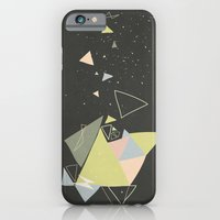 Exploding Triangles//Fiv… iPhone 6 Slim Case