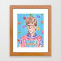 Ladies Man Framed Art Print