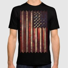 1776 SMALL Mens Fitted Tee Black