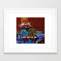 Art Is Life! Framed Art Print