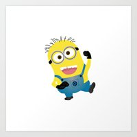 MINION...SAY WHAT?  Art Print