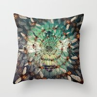 Bees: Masters Of Time An… Throw Pillow