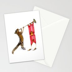 Herald Chipmunk Stationery Cards