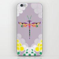 Dragon Fly iPhone & iPod Skin