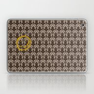 Laptop & iPad Skin featuring Sherlock Wallpaper by Katikut