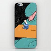 Monsters in the dark. iPhone & iPod Skin