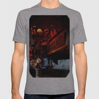 Aviation Mens Fitted Tee Athletic Grey SMALL
