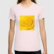 Yellow Rose Of Texas Womens Fitted Tee Light Pink MEDIUM