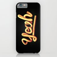 iPhone & iPod Case featuring Yeah by Fresh Contrast