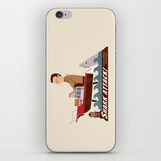 Shark Attack iPhone & iPod Skin