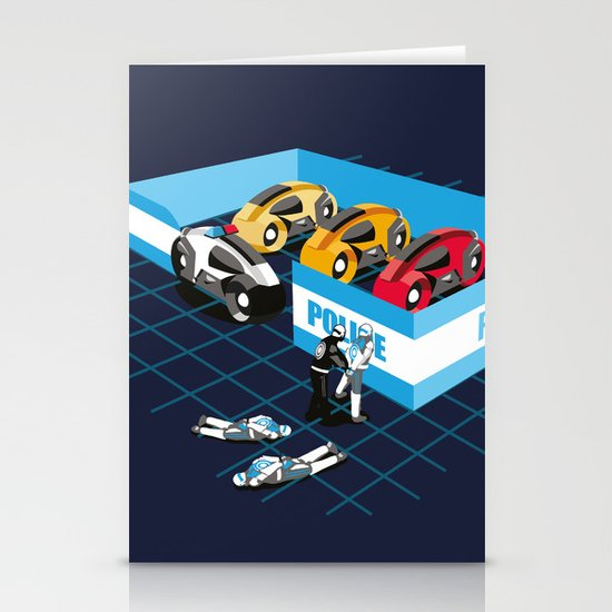 END OF LINE Stationery Card