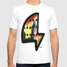 j52o. logo White Mens Fitted Tee SMALL